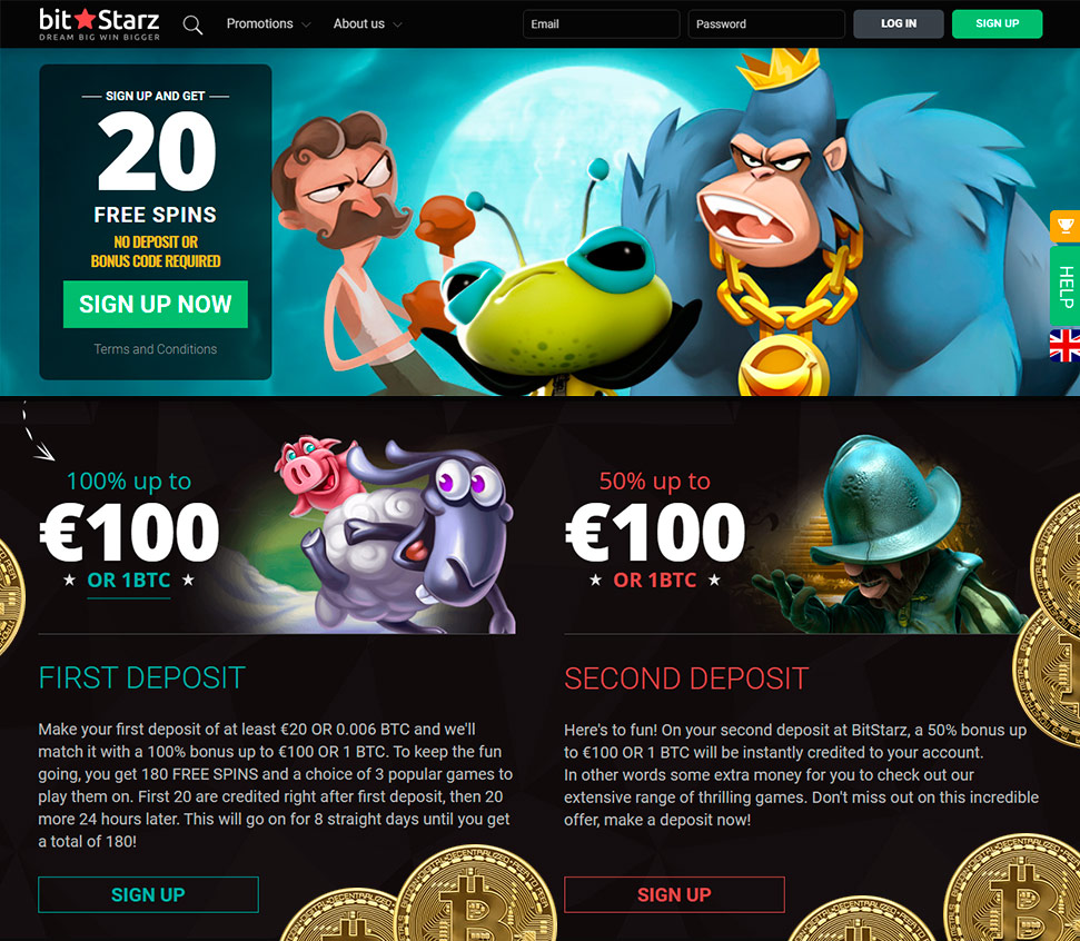 Bitstarz no deposit sign up bonus