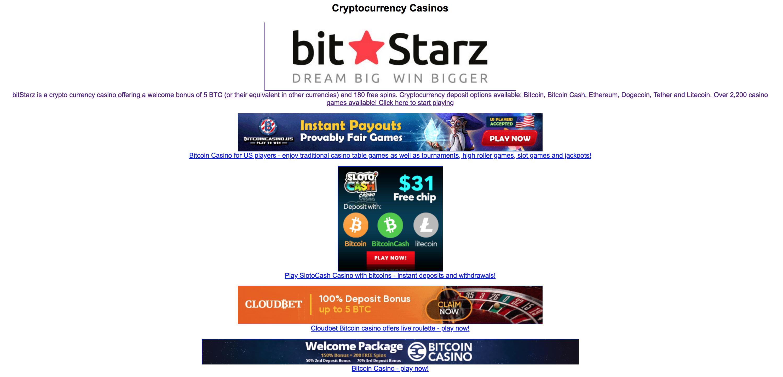 Is www.bitstarz.com legit